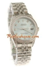 Rolex Replica Datejust Swiss Watch - Boy Size 37<font color=red>หมดชั่วคราว</font>