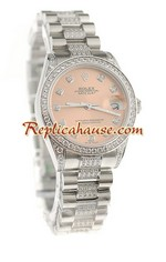 Rolex Replica Datejust Swiss Watch - Boy Size 38<font color=red>หมดชั่วคราว</font>