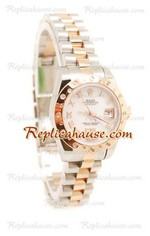 Rolex Replica DateJust Two Tone Ladies - 39
