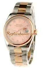 Rolex Replica Datejust Swiss Two Tone Watch 6
