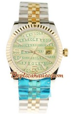 Rolex Replica Datejust Mid Sized Watch 003
