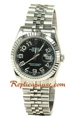Rolex Replica Datejust Silver Watch 12