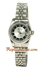Rolex Replica Datejust Silver Watch Ladies 0818