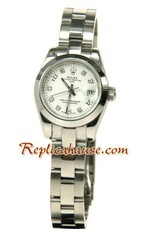 Rolex Replica Datejust Silver Watch Ladies 0821