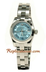 Rolex Replica Datejust Silver Watch Ladies 0819