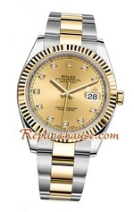 Rolex Replica Datejust II Gold Swiss Watch 04<font color=red>เหลือหน้าขาว</font>