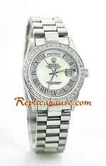 Rolex Day Date Diamond - 13