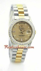 Rolex Replica Day Date Two Tone 6