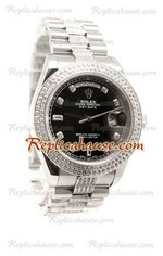 Rolex Replica Day Date Silver Swiss Watch 20