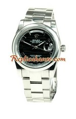 Rolex Replica Day Date Silver Watch 23