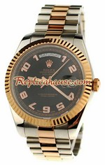 Rolex Replica Day Date Two Tone Swiss Watch 13