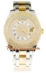 Rolex Replica Day Date Two Tone Watch 7