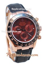 Rolex Replica Daytona Dark Chocolate Swiss Watch 11