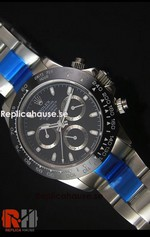 Rolex Replica Daytona Black Swiss Watch 12