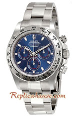 Rolex Daytona Cosmograph Blue Dial 2019 Swiss Replica Watch 11