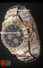 Rolex Replica Daytona Pink Gold Swiss Watch 16