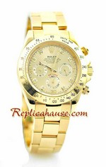 Rolex Daytona Gold White Face 20