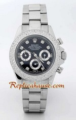 Rolex Replica Daytona Diamonds Bezel Edition Watch 14