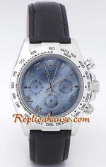 Rolex Replica Daytona Leather Watch 10<font color=red>หมดชั่วคราว</font>
