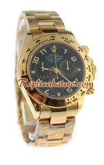 Rolex Replica Daytona Gold Swiss Watch 09
