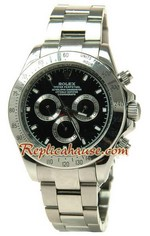 Rolex Replica Daytona Silver Watch 42MM - 2