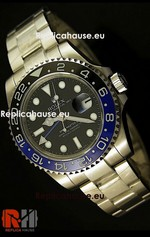 Rolex Replica GMT Masters II Black Blue - Swiss Watch 12