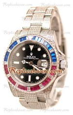 Rolex Replica GMT Masters II Swiss Watch 2010 Edition 21
