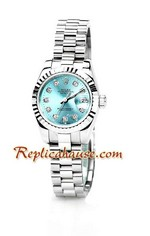 Rolex Replica Datejust Silver Ladies Watch 07