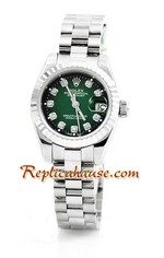 Rolex Replica Datejust Silver Ladies Watch 05