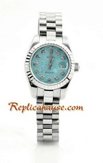 Rolex Replica Datejust Silver Ladies Watch 12
