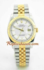 Rolex Replica Datejust two tone Watch 44