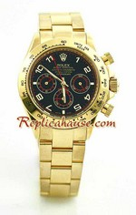 Rolex Daytona Gold Black Face 19