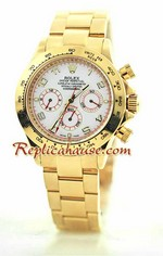 Rolex Daytona Gold White Face 15