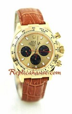 Rolex Replica Daytona Gold Leather 19