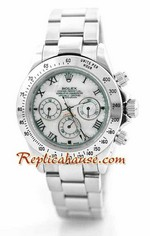 Rolex Replica Daytona Silver Watch 5<font color=red>หมดชั่วคราว</font>
