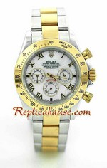 Rolex Daytona Two Tone White Face - 18