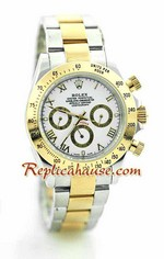Rolex Daytona Two Tone White Face - 38