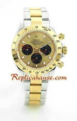 Rolex Daytona Two Tone White Face - 19