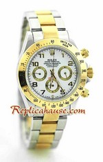 Rolex Daytona Two Tone White Face - 17<font color=red>หมดชั่วคราว</font>