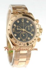 Rolex Replica Daytona Gold Swiss Watch 04