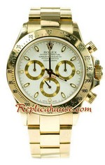 Rolex Replica Daytona Gold Swiss Watch 01
