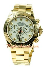 Rolex Replica Daytona Gold Swiss Watch 03