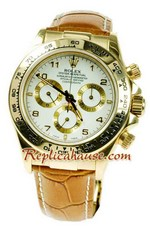 Rolex Replica Daytona Gold Swiss Watch 05
