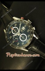 Tag Heuer Carrera Calibre 1887 Black Swiss Watch 09