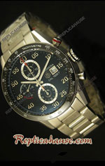 Tag Heuer Carrera Calibre 1887 Black Swiss Watch 10