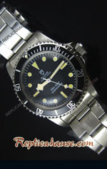 Tudor Oyster Prince Vintage 200M Black Dial Swiss Replica Watch 04