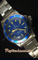 Tudor Oyster Prince Vintage 200M Blue Dial Swiss Replica Watch 05