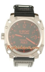 U-Boat Thousand of Feet Swiss Replica Watch 1