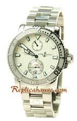 Ulysse Nardin Maxi Marine Chronometer Swiss Replica Watch 01
