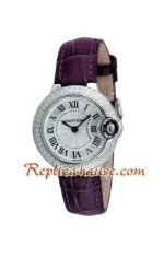 Cartier Ballon Bleu Medium 2012 Lady Watch 1
